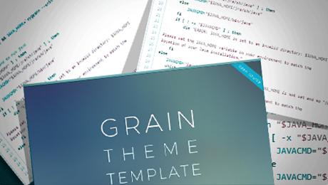 Grain Theme Template